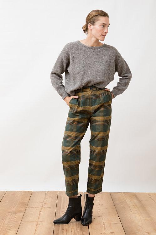 JUNGLE FOLK - Duoro pants checkered