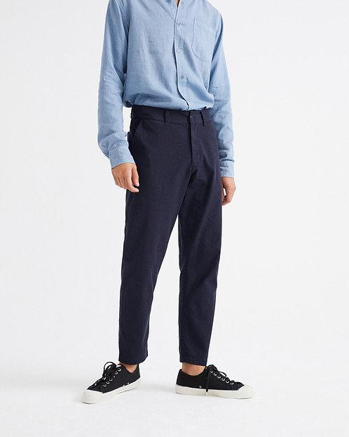 THINKING MU - Marcelino pants navy