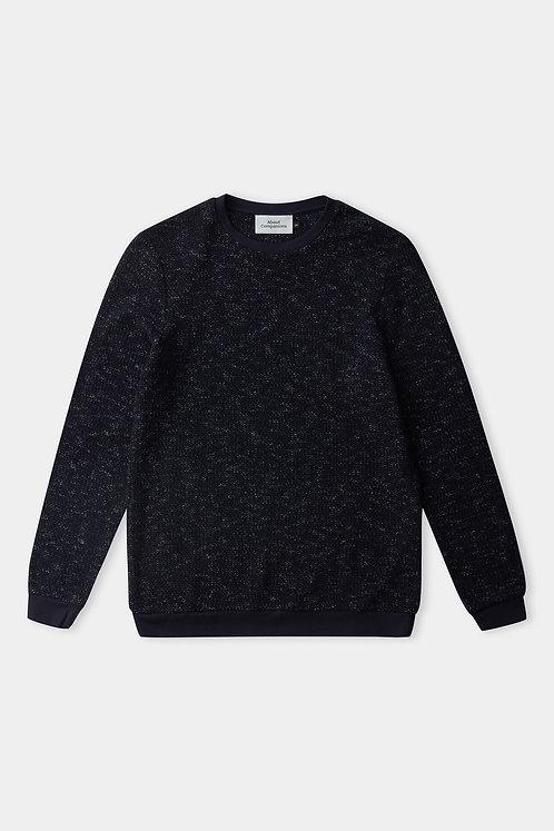 ACO - Hans jumper eco knitted navy linen