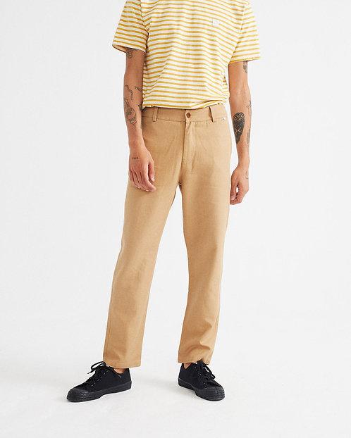 THINKING MU - Marcelino pants  hemp camel