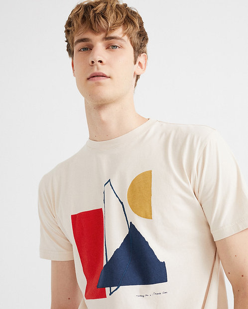 THINKING MU - abstract t-shirt bone
