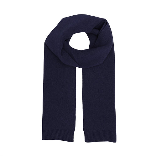 Colorful standard - merino scarf navy blue