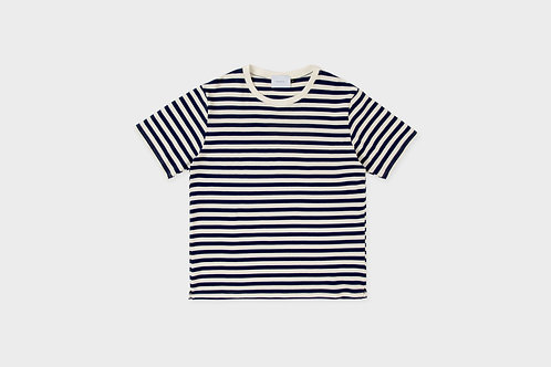 ROTHOLZ -  Rights T-shirt navy/white striped