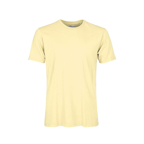 Colorful standard - classic organic tee soft yellow