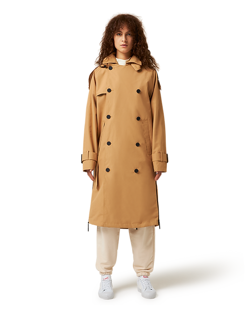 MAIUM -Trench coat iced coffee