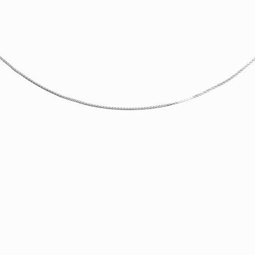 SISTER - box chain necklace silver