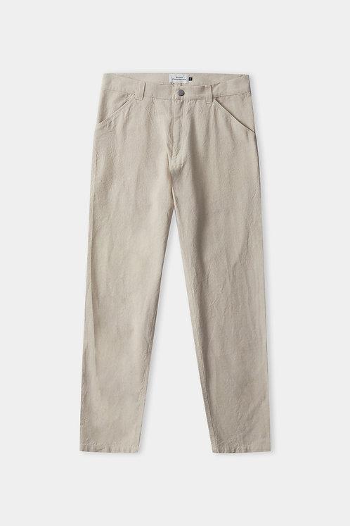 ACO - Olf trousers eco canvas sand