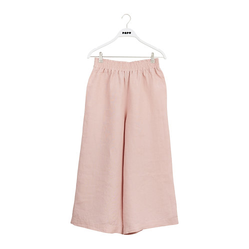 PAPU - culotte linen muted red