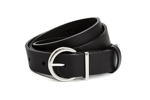 NINE TO FIVE - Oval belt black