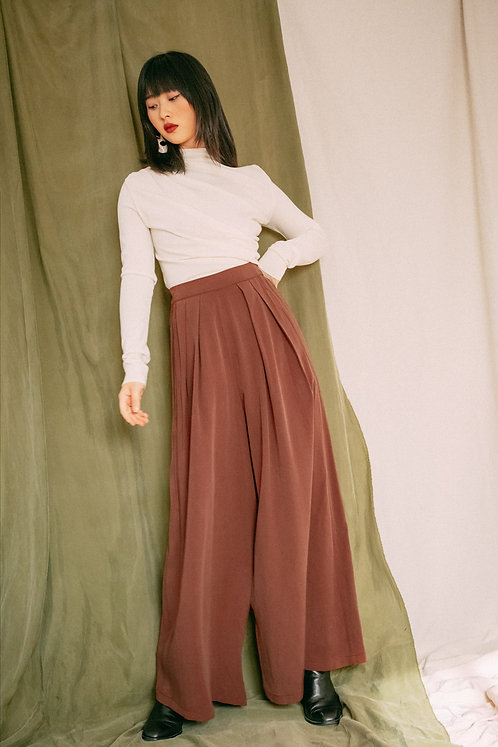 COSSAC - Palazzo trousers rust