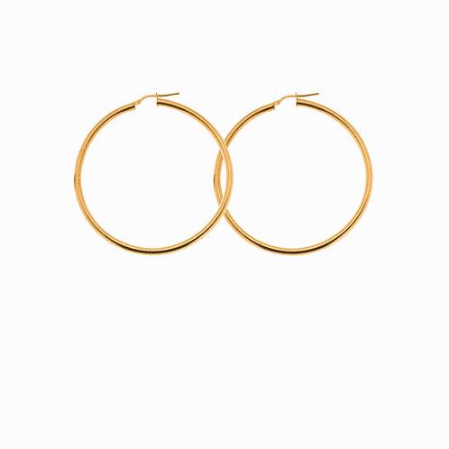 SISTER - fine hoops  gold