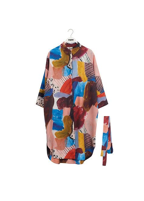 PAPU - Boheme dress expression print