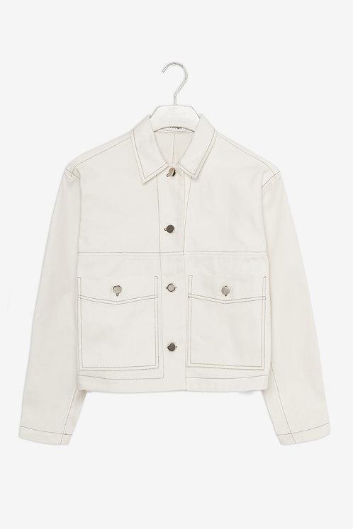 Frisur - Alma jacket white twill