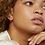 Thumbnail: WILD FAWN -  minimal bar curve earrings silver