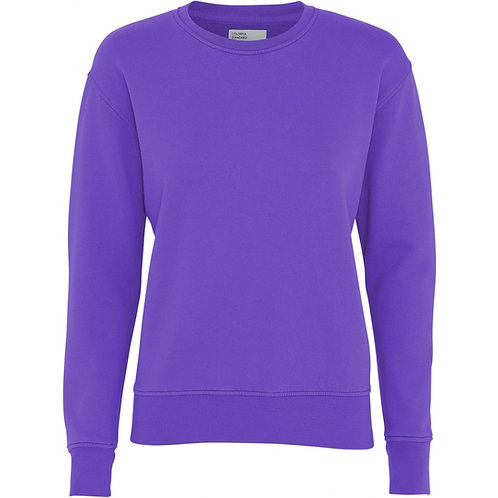 CS - women classic organic sweat  violet