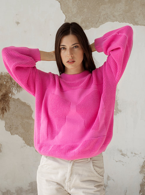 OAT AVA - Moa sweater pink