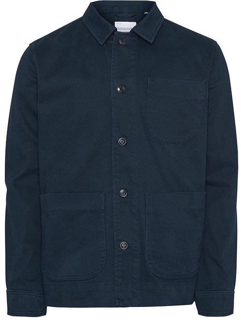 KCA - Pine heavy twill overshirt total eclipse