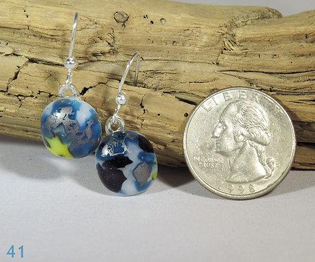 Small Spots Glass Earrings