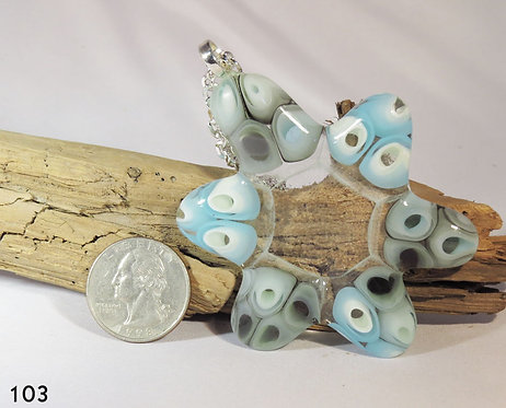 Large Murrine Glass Necklace