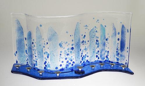 Glass Menorah 3