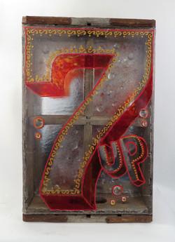 7Up box
