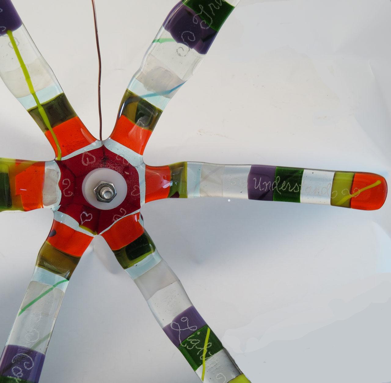 Color Umbrella of Peace-close-up