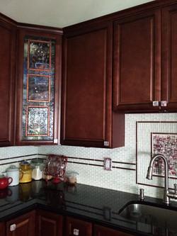 Kitchen View Glass Details