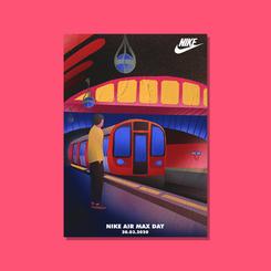 Nike London Illustration