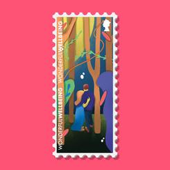 Wonderful Wellbeing Stamp