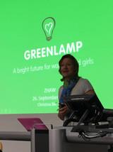 Christina Blecher, GreenLamp President