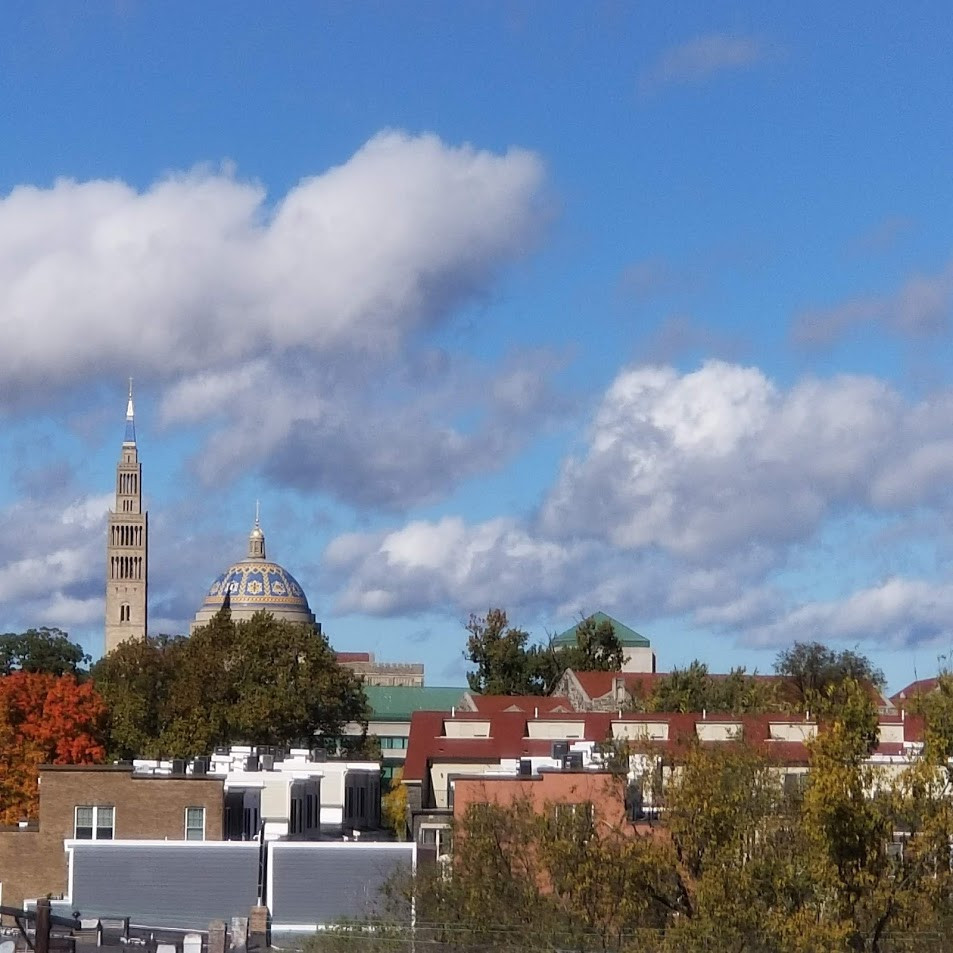 Views of the National Basilica too!