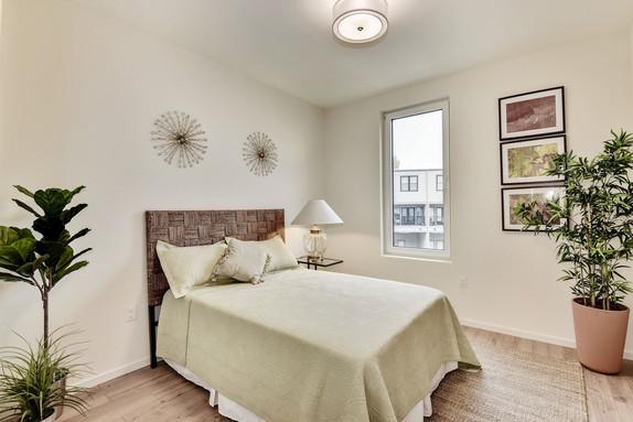 Bright third bedroom.