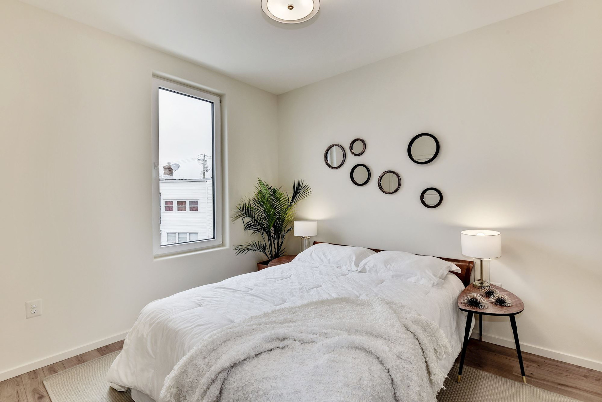 Generous second bedroom.