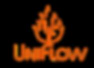 uniflow teksti ja logo oranssi.png