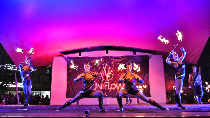 HEHKU FESTIVAL, Fire show