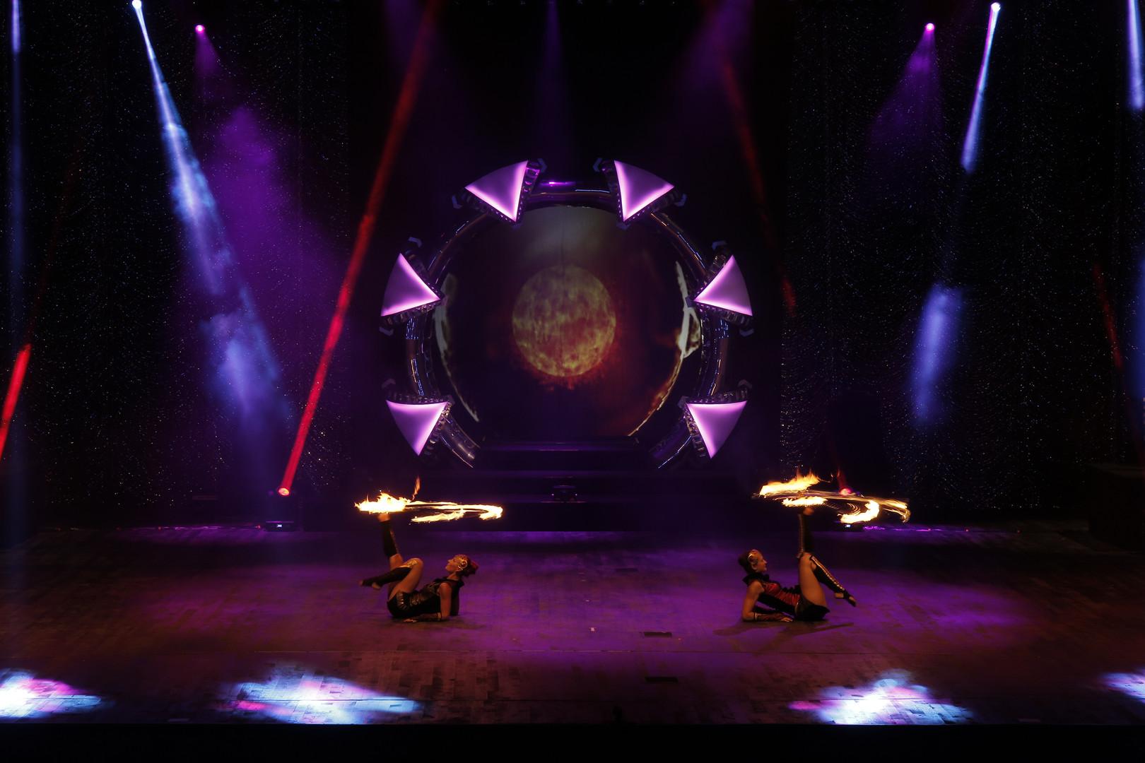 TURKEY 2016, Fire show