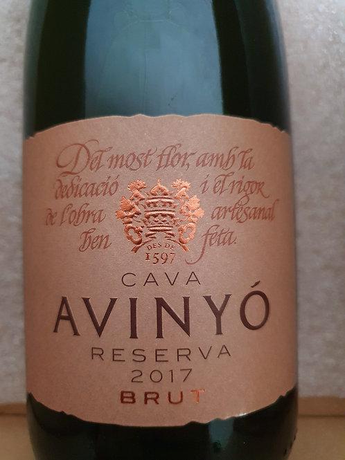 Cava Avinyo – Brut Reserva – 2016 – Penedès, Spanje