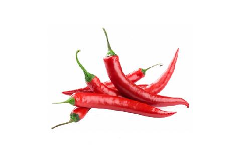BIO Pepers rood 5 stuks