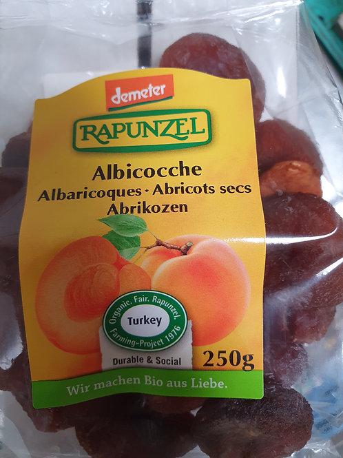 Gedroogd fruit, abrikoos 250gr