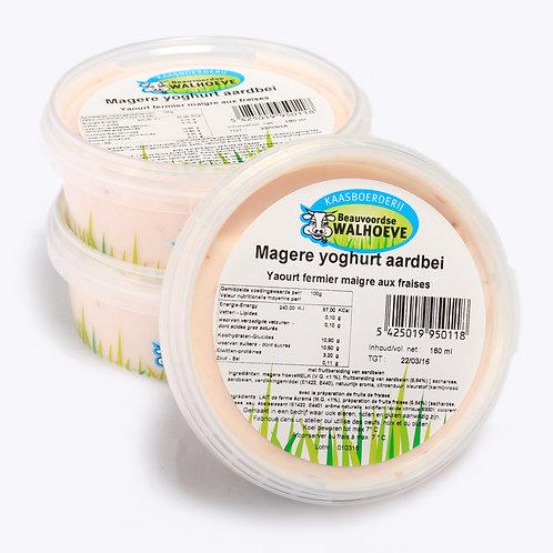 Magere Yoghurt met keuze uit diverse fruitsoorten