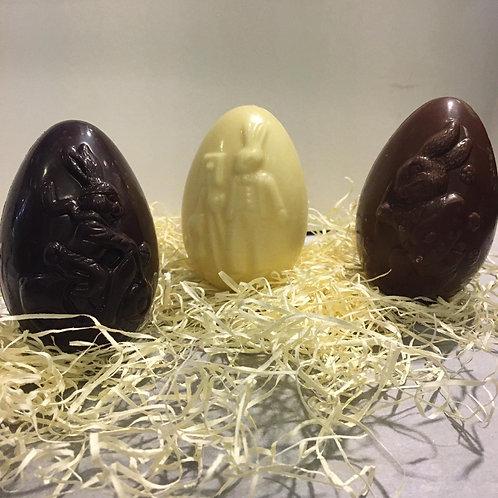 Chocolade eieren 2stks