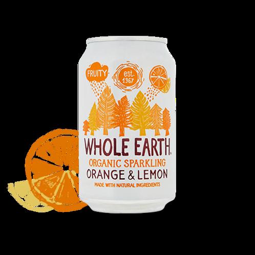 BIO Whole Earth Orange & Lemon 330ml
