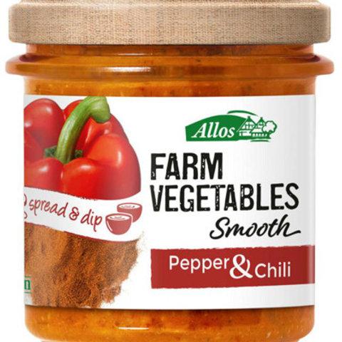 BIO spread Paprika & chili