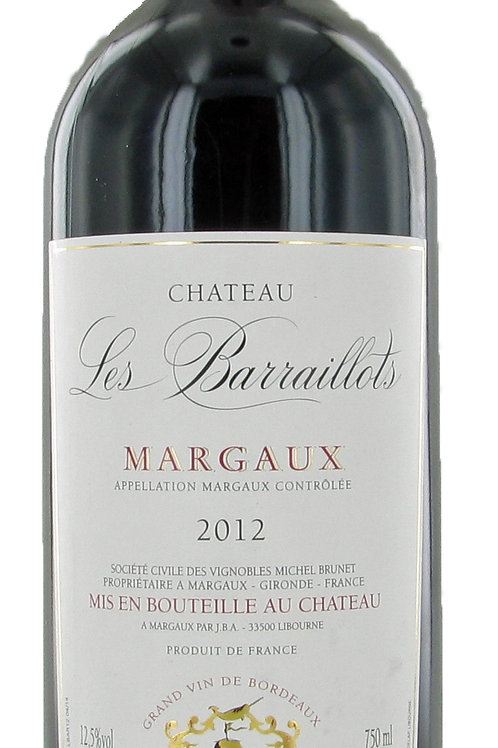 Château Les Barraillots – Margaux – 2015 – Frankrijk