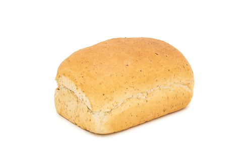 Brood bruin vierkant