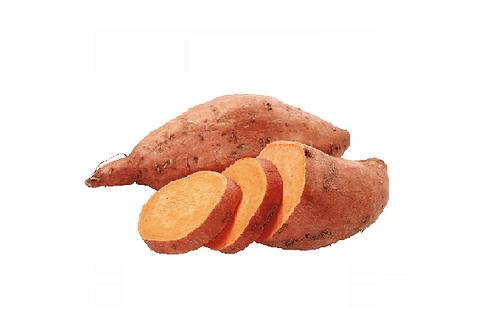BIO zoete aardappel, +- 500gr