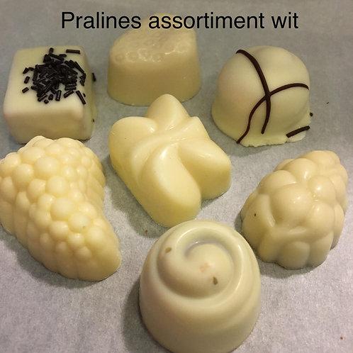 Pralines witte chocolade