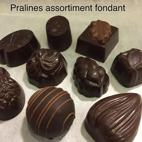 Pralines fondant-chocolade