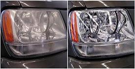 Headlight Restoration Before & After