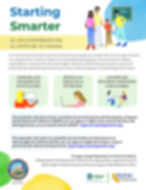 startsmartbeapartner Parent Flyer-Spanis